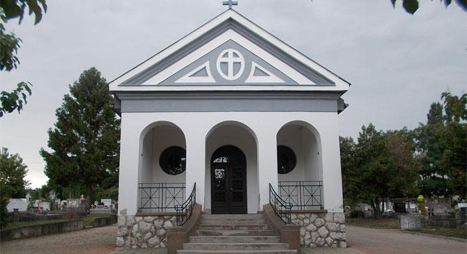 Felújítják a ravatalozót a dorogi temetőben