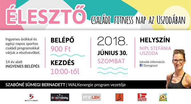 Élesztő Családi Fitness Nap Dorogon