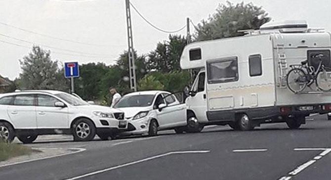 Két baleset is történt péntek délután térségünkben