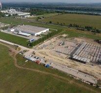 Papírfeldolgozó üzemet építettek Nyergesújfalun