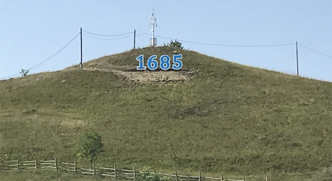 Emlékhelyet emeltek a táti csata 333. évfordulójára