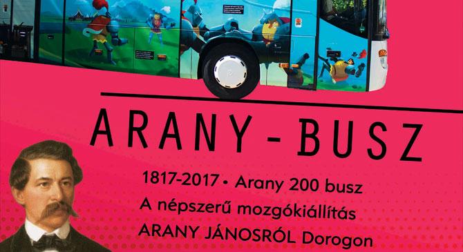 Arany-busz érkezik Dorogra