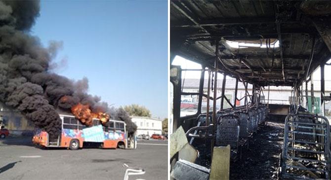 Égő autóbuszokon gyakorolhattak a tűzoltók Dorogon