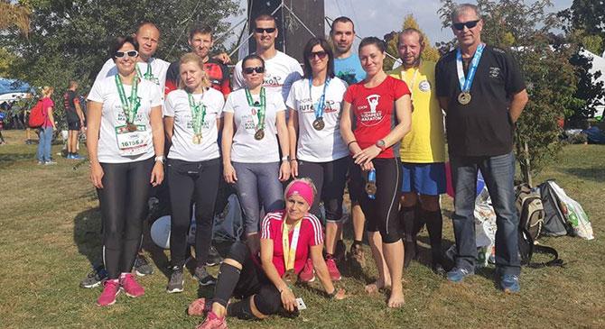 A Dorogi Futókör is képviselte magát a Budapest Maratonon