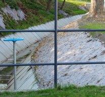 Vízelvezető rendszert telepítettek Mogyorósbányán