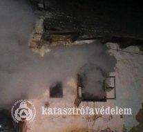 Tűz ütött ki egy családi házban Szomoron