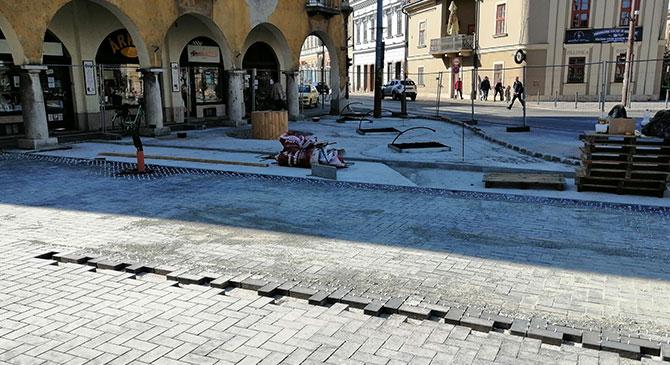Teljesen megújul Esztergom belvárosa