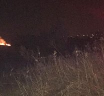Hatalmas lángok csaptak fel a Palatinus-tónál