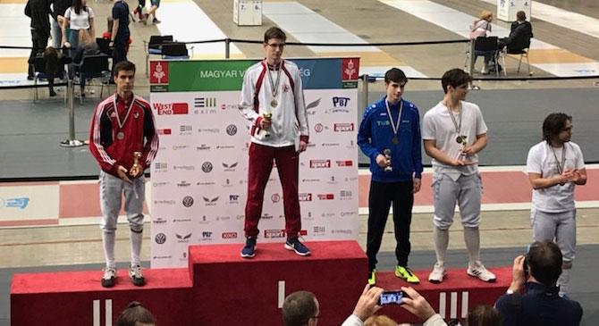 Olimpiai bajnok lett egy esztergomi fiú a Vivó Diákolimpián