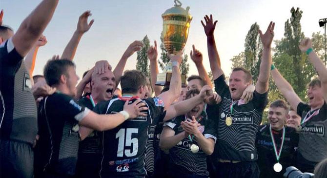 Rögbi: négy év után bajnok az Esztergomi Vitézek csapata