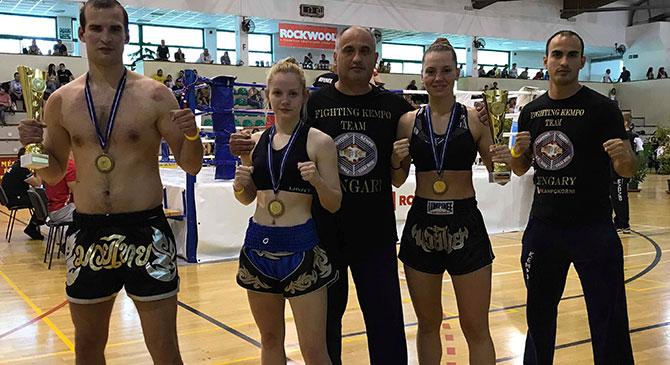 Budakeszin és Tapolcán taroltak harcművészeink