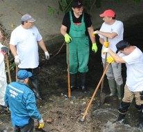 Kitisztították a kenyérmezei patak egy szakaszát Dorogon