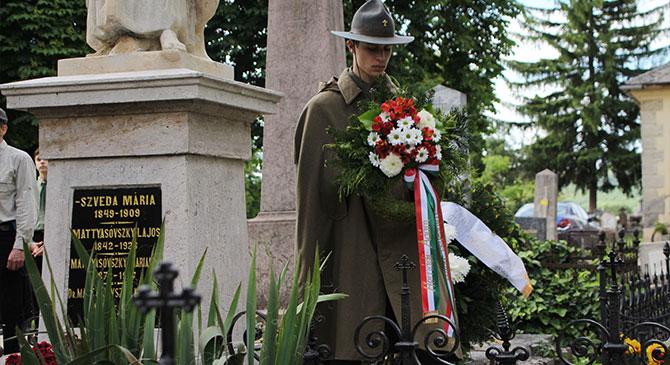 Újraszentelték Mattyasovszky Kasszián sírját