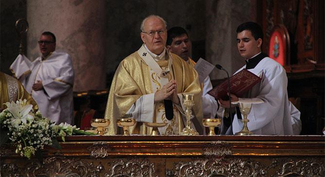 Ünnepi szentmisét celebrált Erdő Péter bíboros