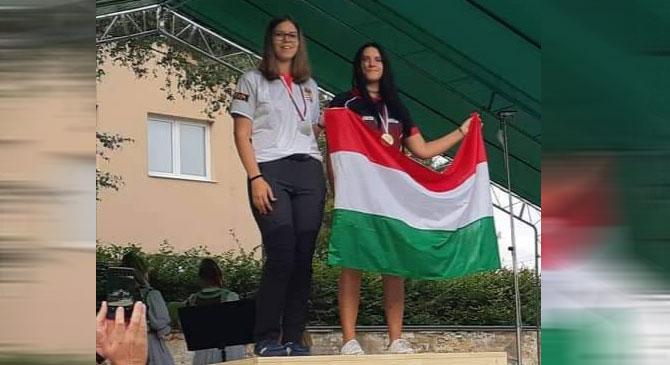 Ötödik Európa Bajnoki címét szerezte meg a pilisjászfalui íjász lány