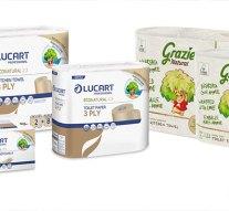 Újrahasznosított és újrahasznosítható papírcsomagolás: a Lucart új fejlesztése