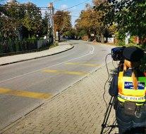 Sebességméréssel próbálják a közlekedőket óvatosságra inteni