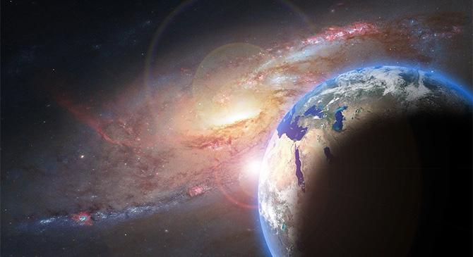 Csillagászati előadás Táton