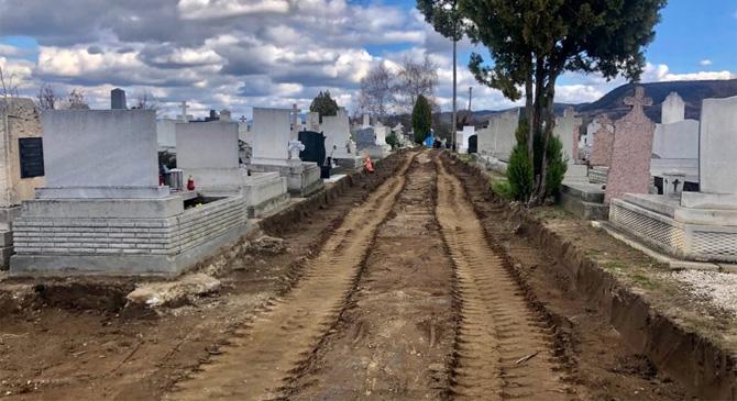 Felújítják a tokodi temető úthálózatát