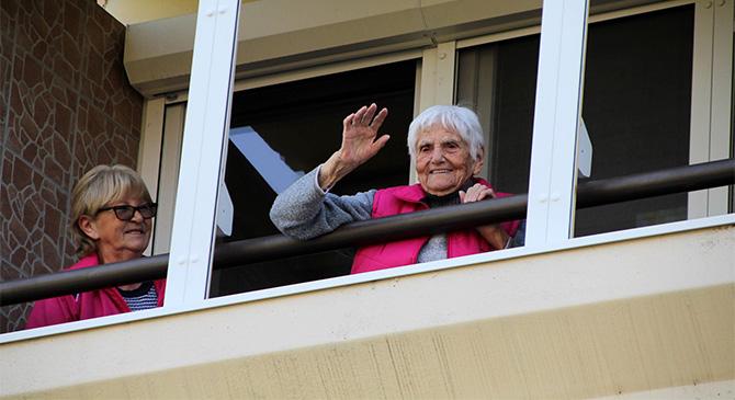 Ismét felköszöntötték a százéves Marika nénit