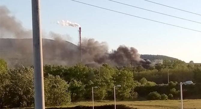 Katasztrófavédelem: nem került egészségre veszélyes anyag a levegőbe