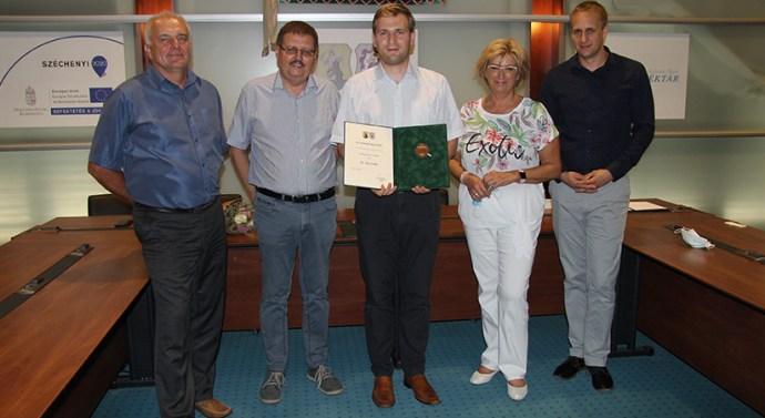 Dr. Veres Zoltán lett az év köztisztviselője