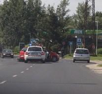 Két gépjármű ütközött össze Dorogon