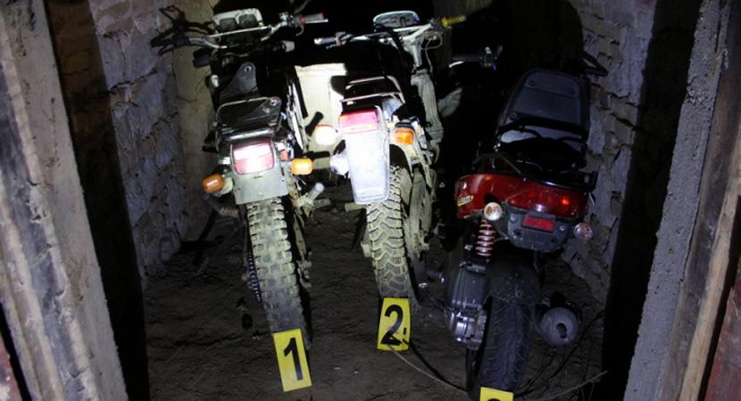Három motorkerékpárt is ellopott a fiatal fiú