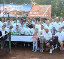 Tenisztornát rendeztek Szerencsés Tibor emlékére