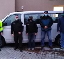 """Tiszadobig ért a nyergesújfalui önkéntes tűzoltók """"tömlője"""""""