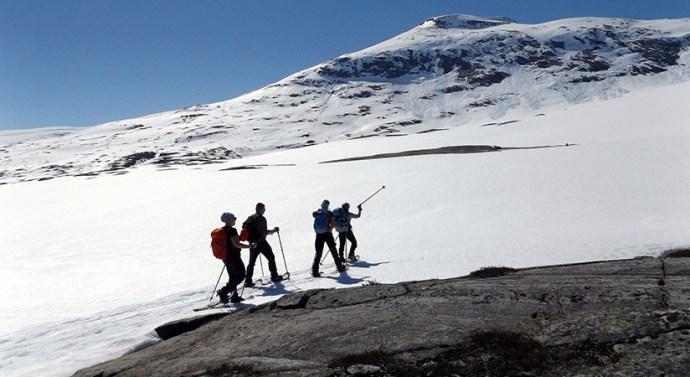 Hótalpazás az északi sarkkörön