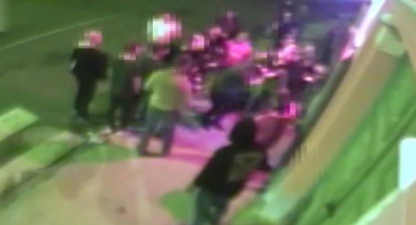 Esztergomi szórakozóhely előtt verekedtek össze