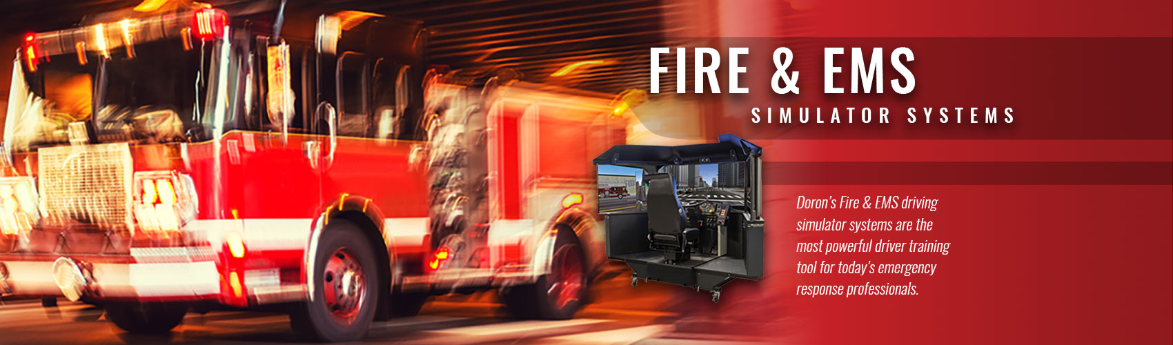 Fire truck simulation
