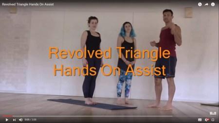Revolved triangle