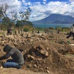 Work on foundations for yoga retreat center close to San Pedro Guatemala