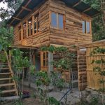 Casa Feliz - complete front view - comfortable accommodation in our yoga retreat center
