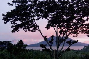 DYZC Kitchen Deck Lake Atitlan Sunset
