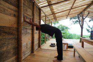 Standing Shoulder Opener Yoga Pose