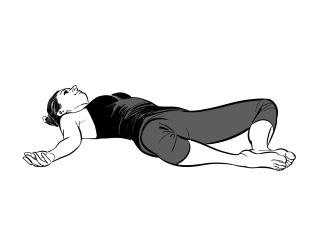 Yoga pose combat insomnia