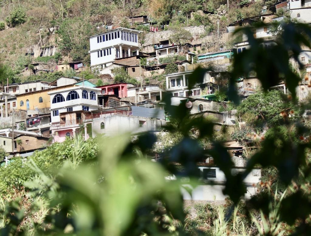 Tzununa village from DYZC garden