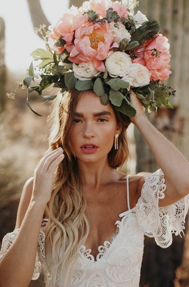 Fryzury ślubne 2020, Trendy ślubne 2020, ślub 2020, Wedding hair trends 2020, Wedding Trends 2020, Flower bouquets hair, Kwiaty do ślubu, inspiracje ślubne, ślubny lookbook, blog ślubny