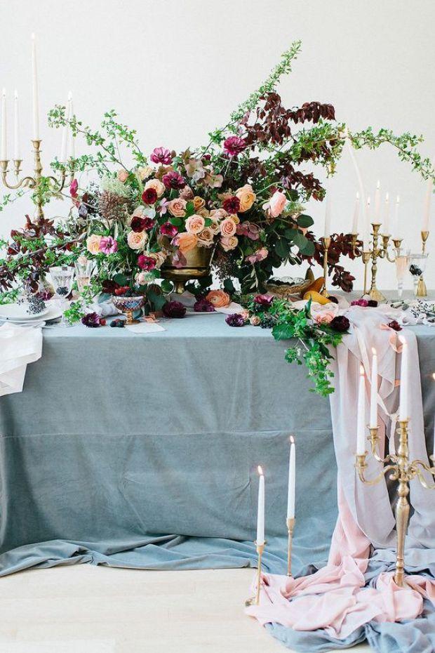 Dekoracje stołów nw wesele, v