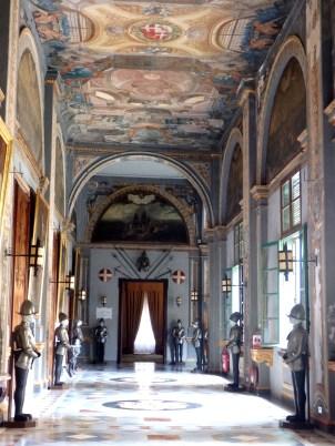 Hallway, State Rooms, Palace, Valletta, Malta