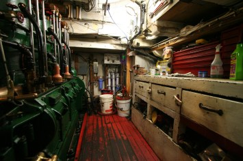 David B Engine room.