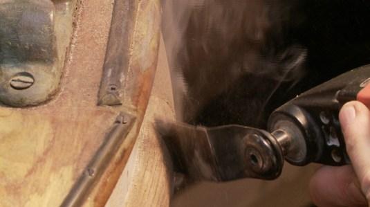 Smoke off fein tool