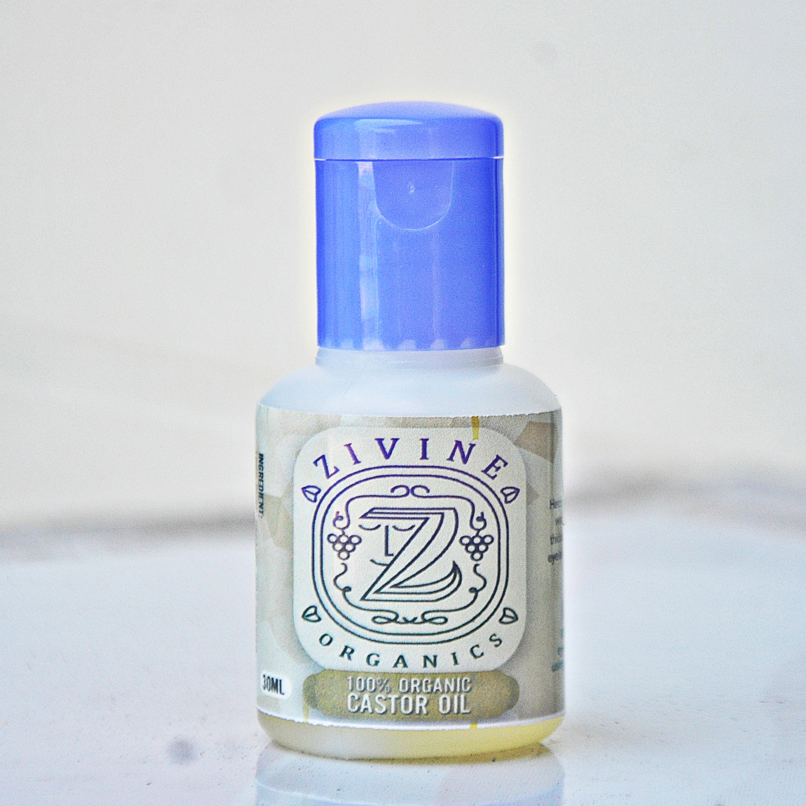 Zivine Organics Pure And Organic Grapeseed Oil And Castor
