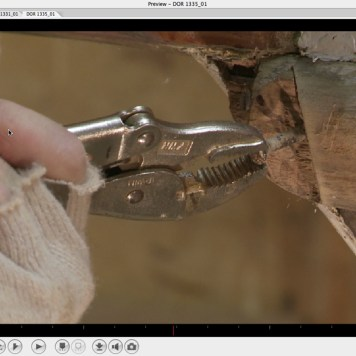 Uncrewing fastening that didn't break-rubrail-sshot-Oct 2-2013