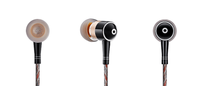 Zero : DAC high powered amp earphones for Samsung Note2, Note3, Note4, Note Edge - Red