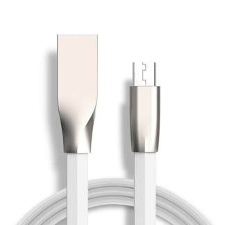 Alcatel Pixi 3, 4 Tablet Micro USB Charger/Data Lead Wire Cord Cable – White