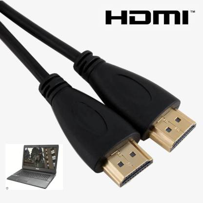 Asus X75VC, X553MA, C100PA-FS0001 Laptop HDMI to HDMI TV 3m Gold Cord Wire Lead Cable